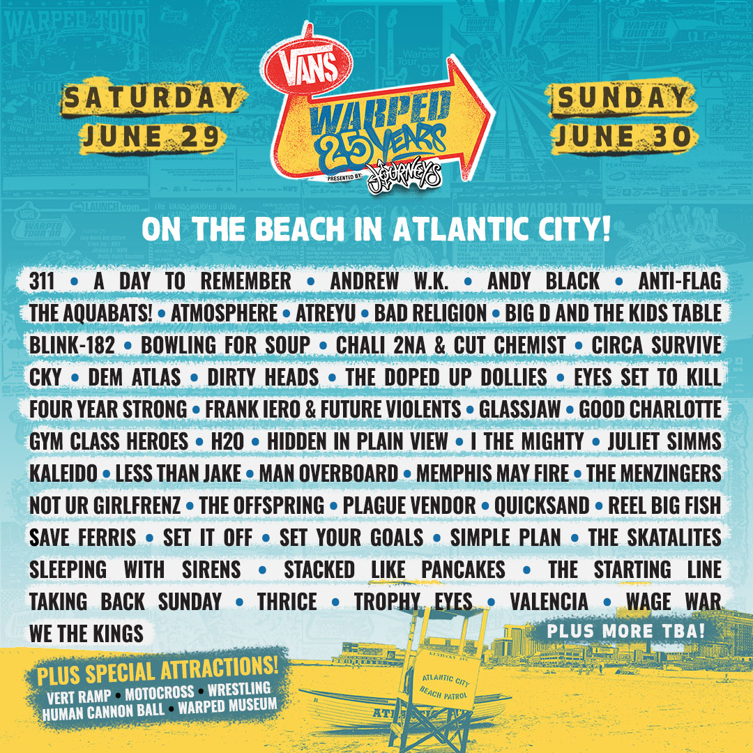 Vans Warped Tour 25th Anniversary