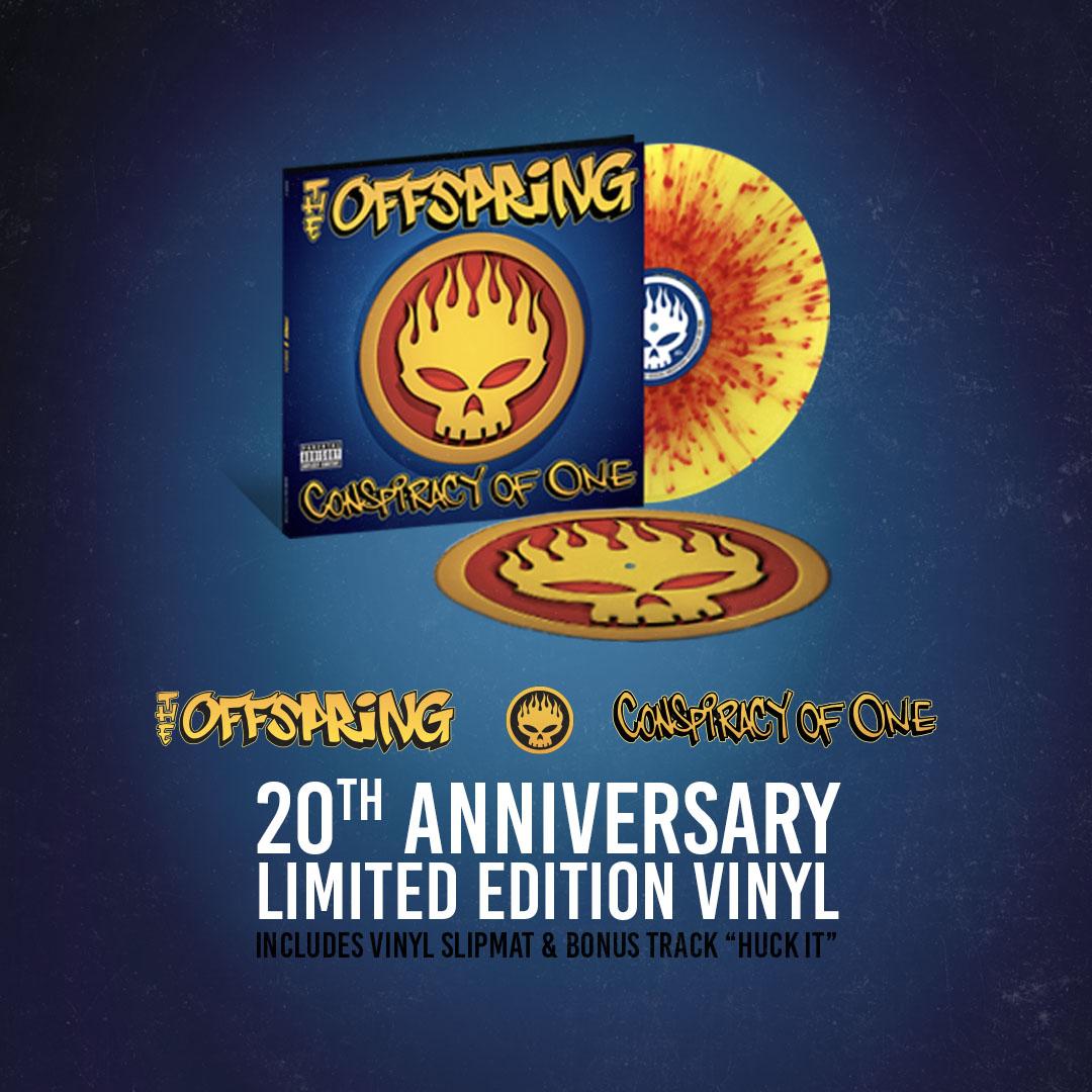 Conspiracy of One 20th Anniversary Vinyl
