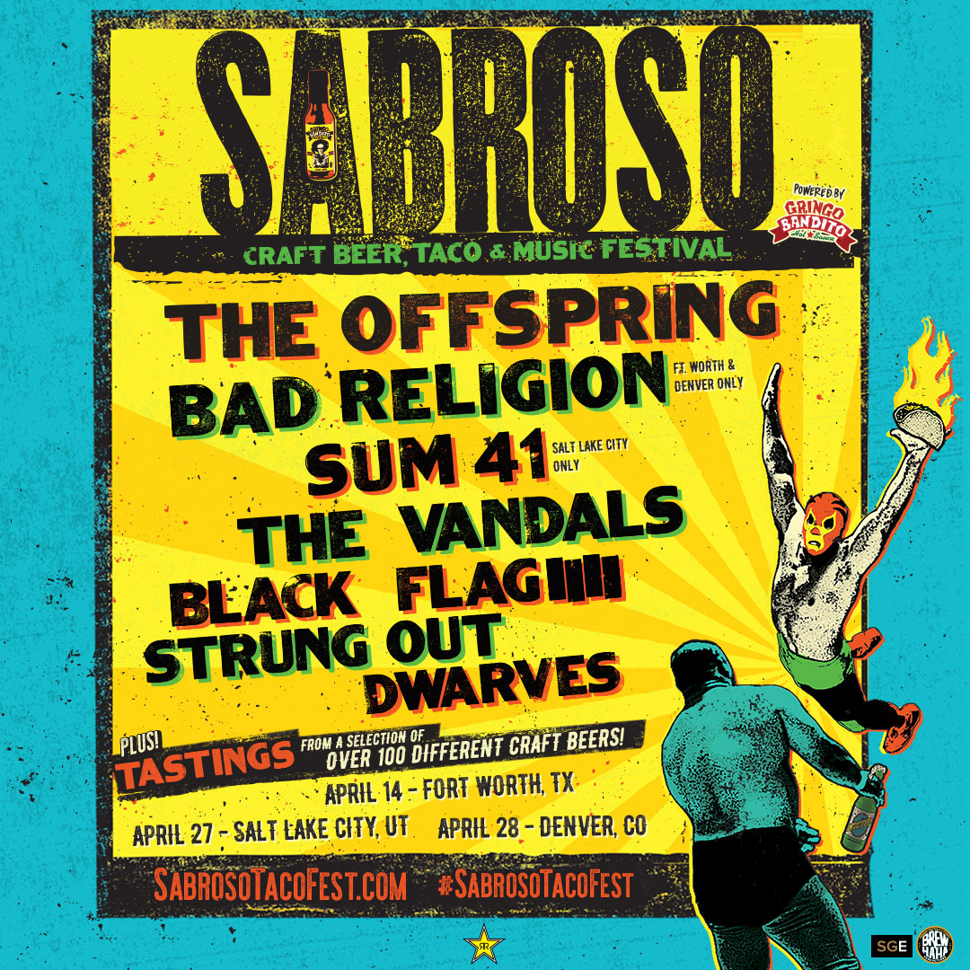 More Sabroso Festival Dates Just Added