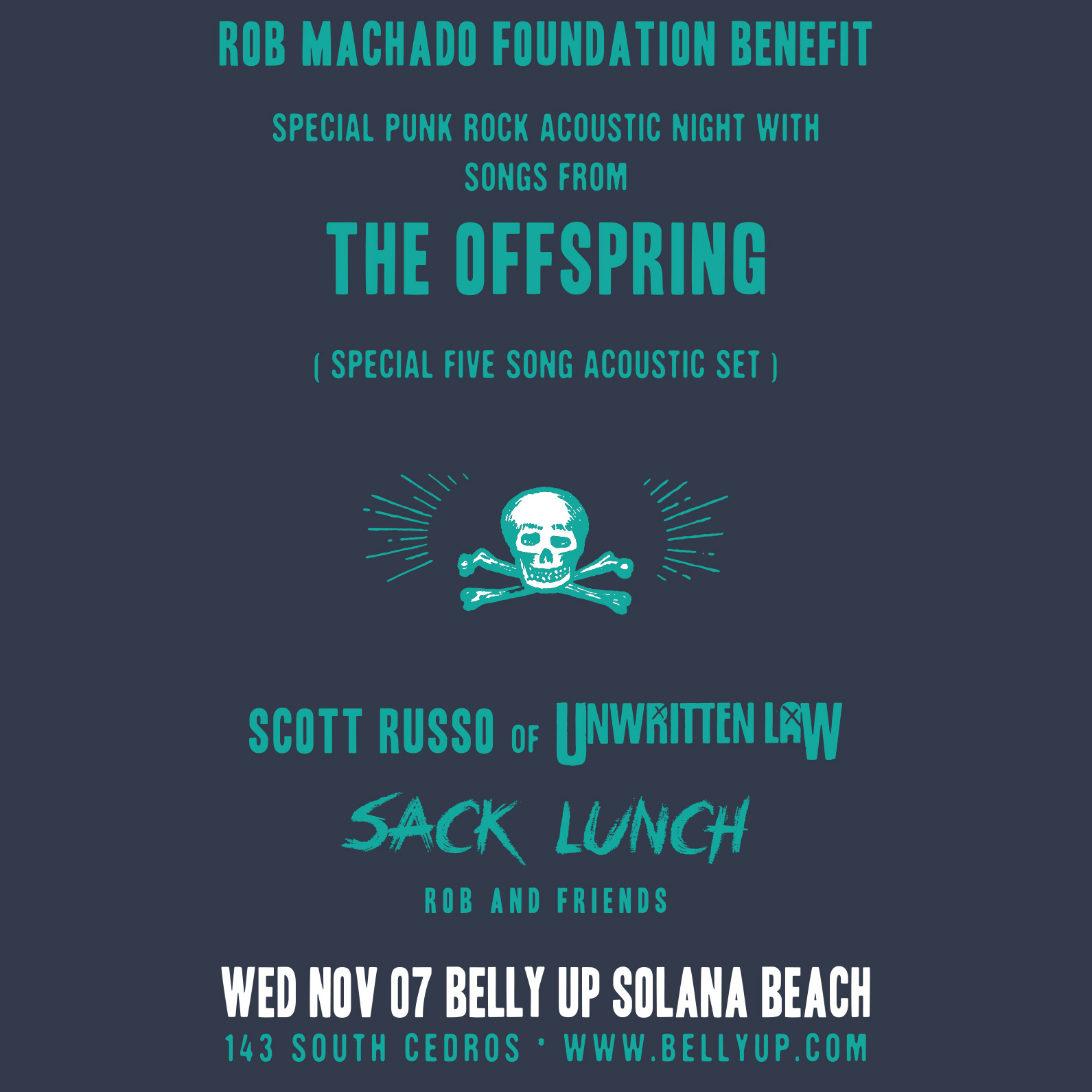 Rob Machado Foundation Benefit