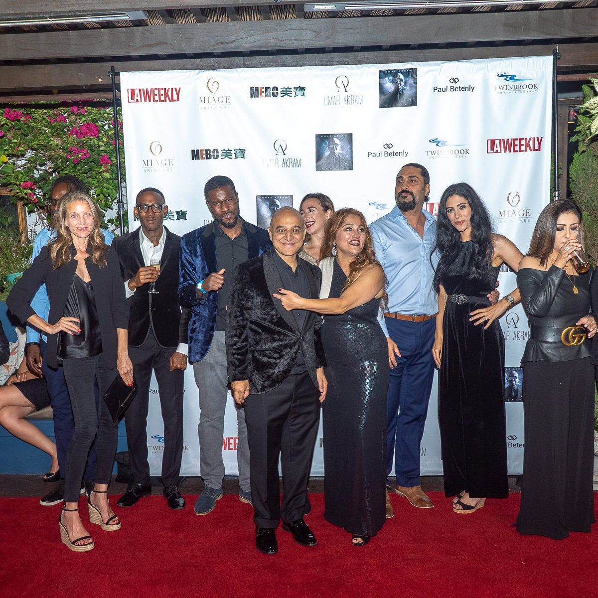 Omar Akrams Destiny Album Release Party In Beverly Hills