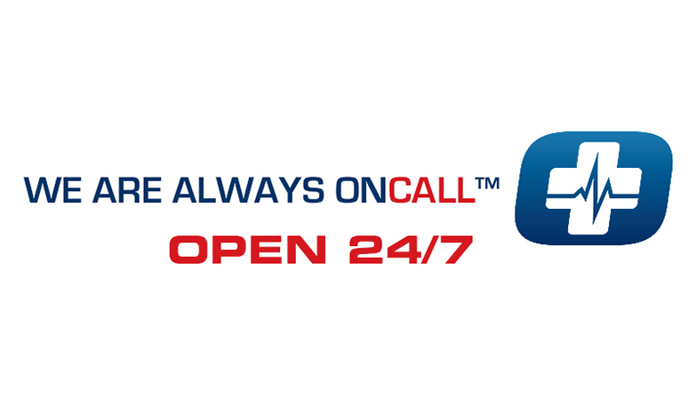 We are always OnCall™ - Open 24/7