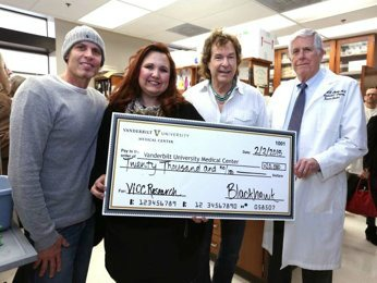 BlackHawk Presents $20,000 Check to Nashville's Vanderbilt-Ingram for Cancer Research