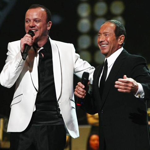 Paul & Gigi D'Alessio at Radio City New York