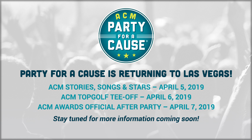 PARTY FOR A CAUSE IS RETURNING TO LAS VEGAS!