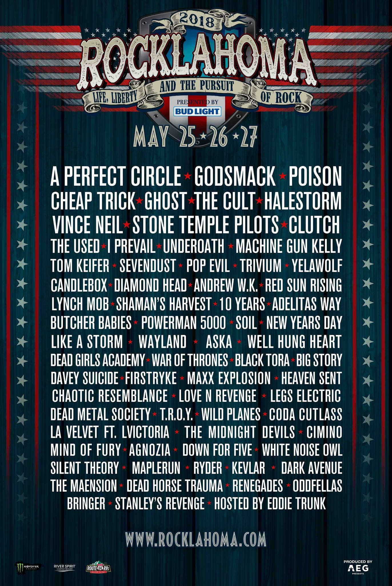 Poison to Return in 2018 at Rocklahoma
