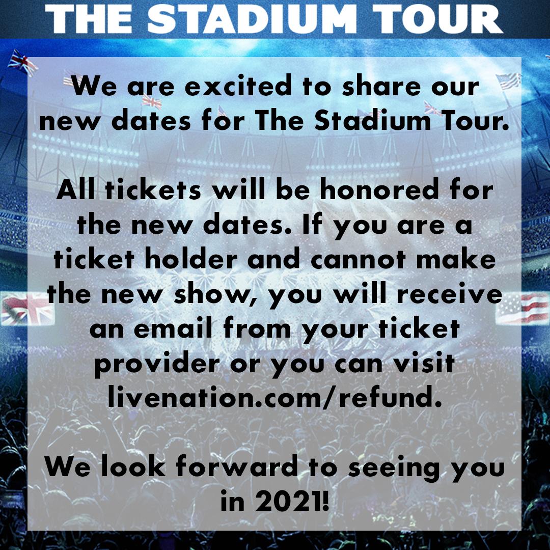 2021 Dates