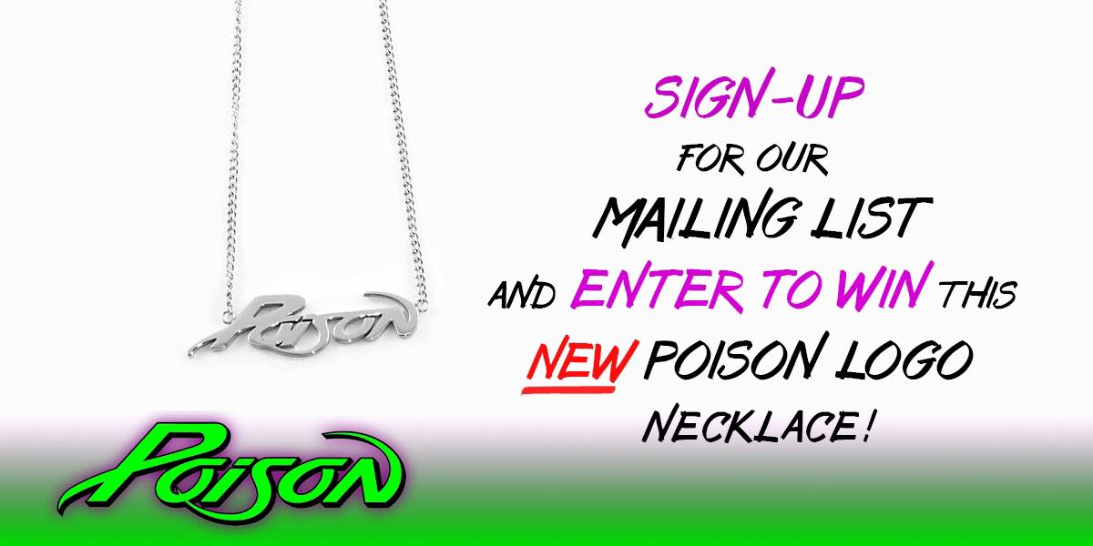 Enter To Win a Poison Necklace!