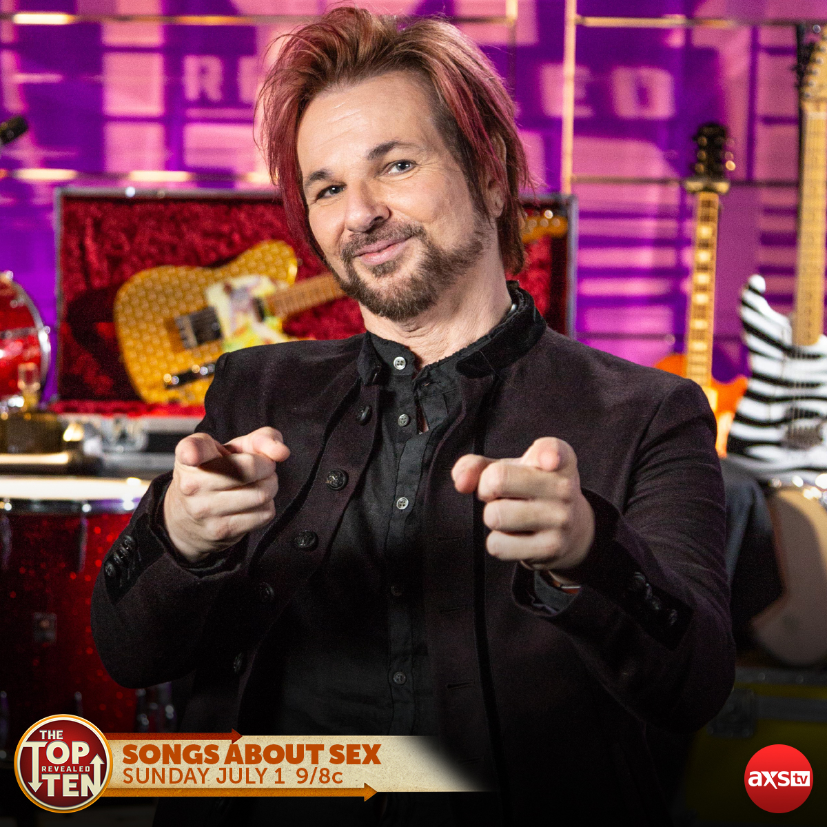 Rikki Rockett to appear on AXS