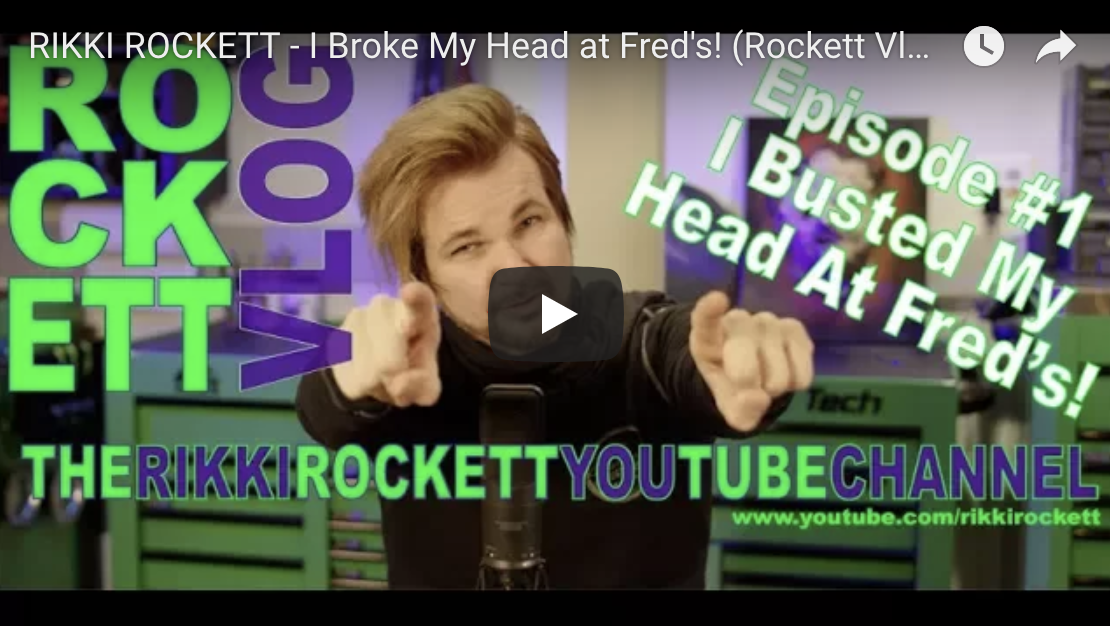 Introducing the RIKKI ROCKETT Vlog series