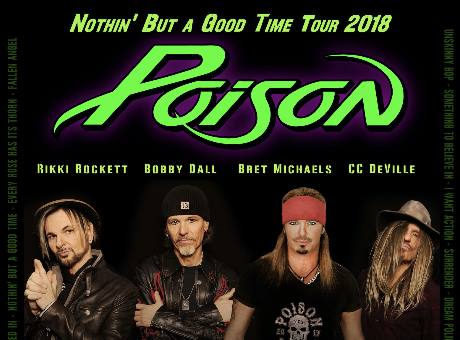 Poison Cheap Trick And Pop Evil Join Forces For Nothin But A Good