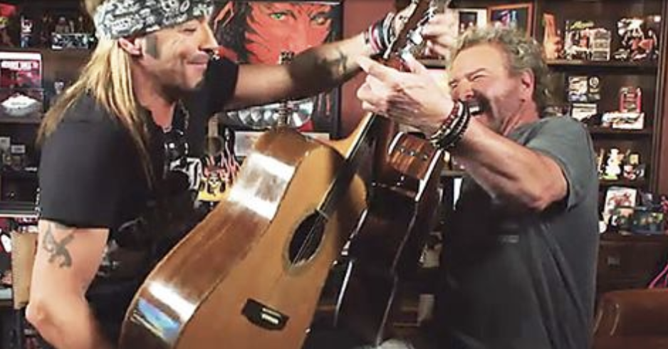 Bret Michaels To Star in Sammy Hagar's Rock & Roll Road Trip Sunday June 10 on AXS