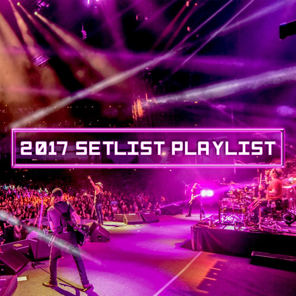2017 Setlist Playlist