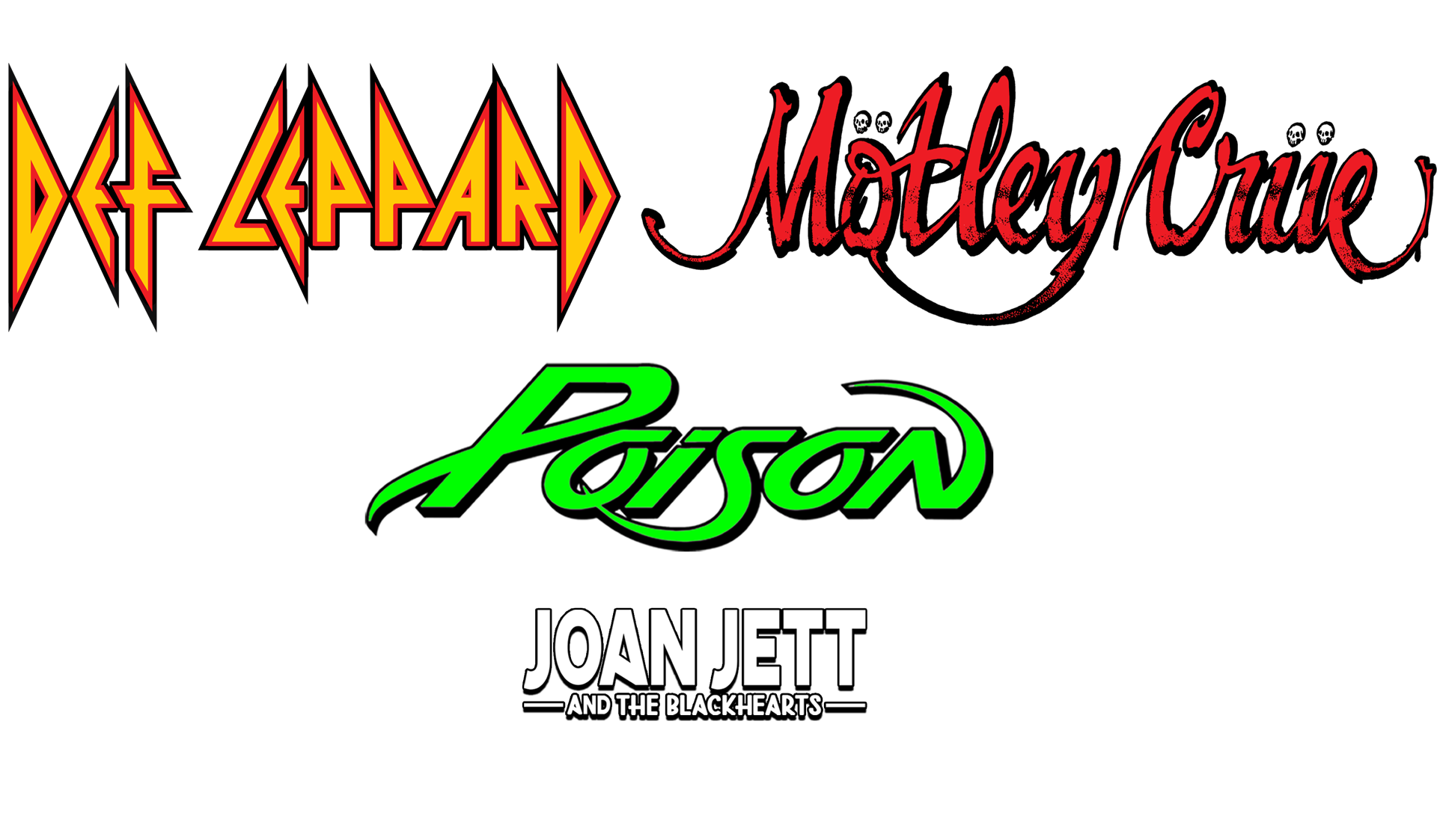 The Stadium Tour - Def Leppard - Motley Crue - Poison - Joan Jett and the Blackhearts