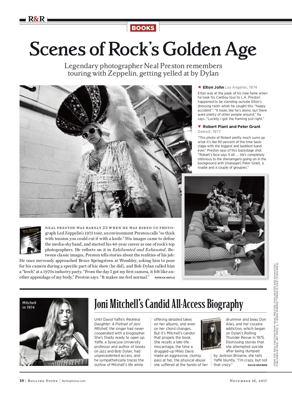 Scenes of Rock's Golden Age