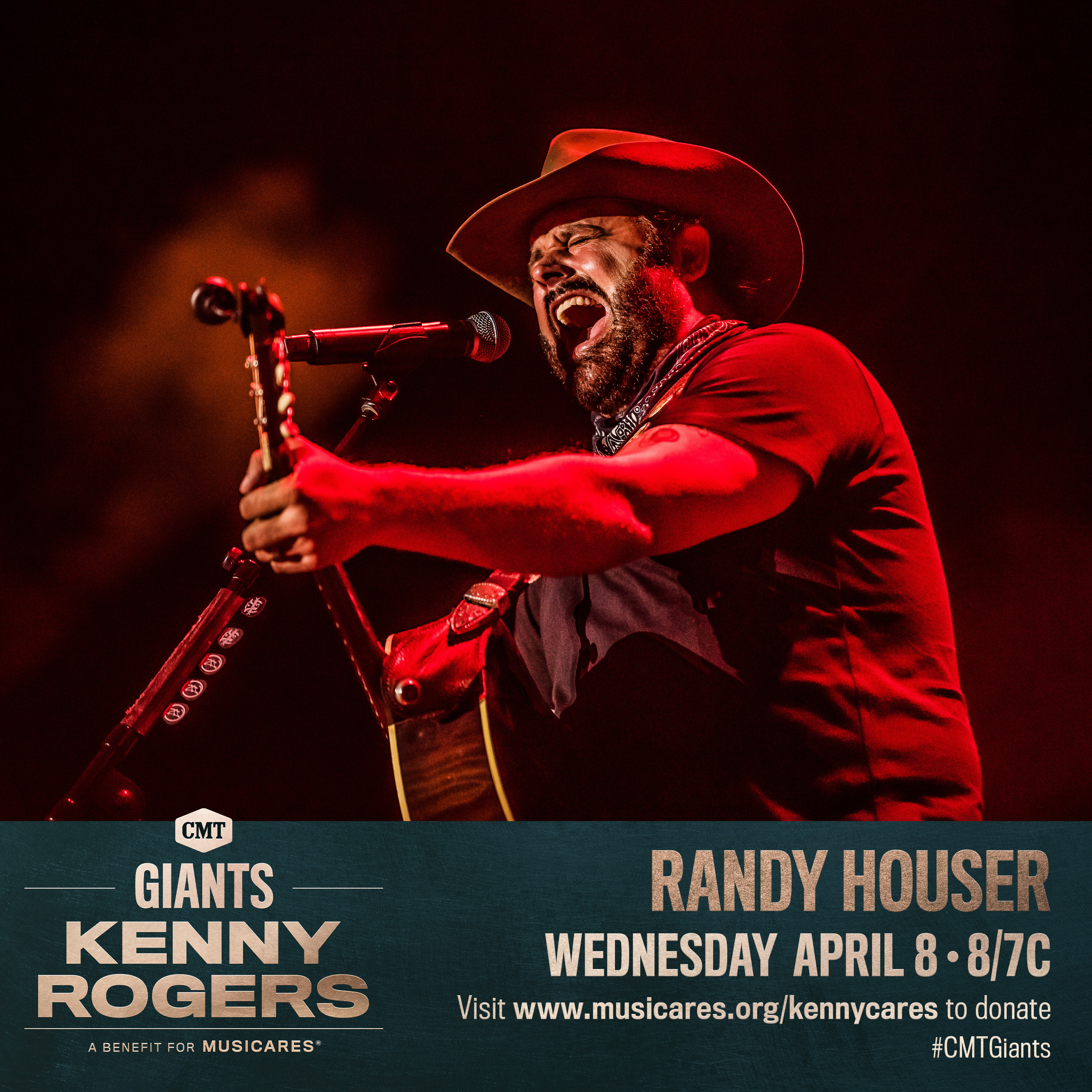 RANDY TO PERFORM ON CMT SPECIAL HONORING KENNY ROGERS