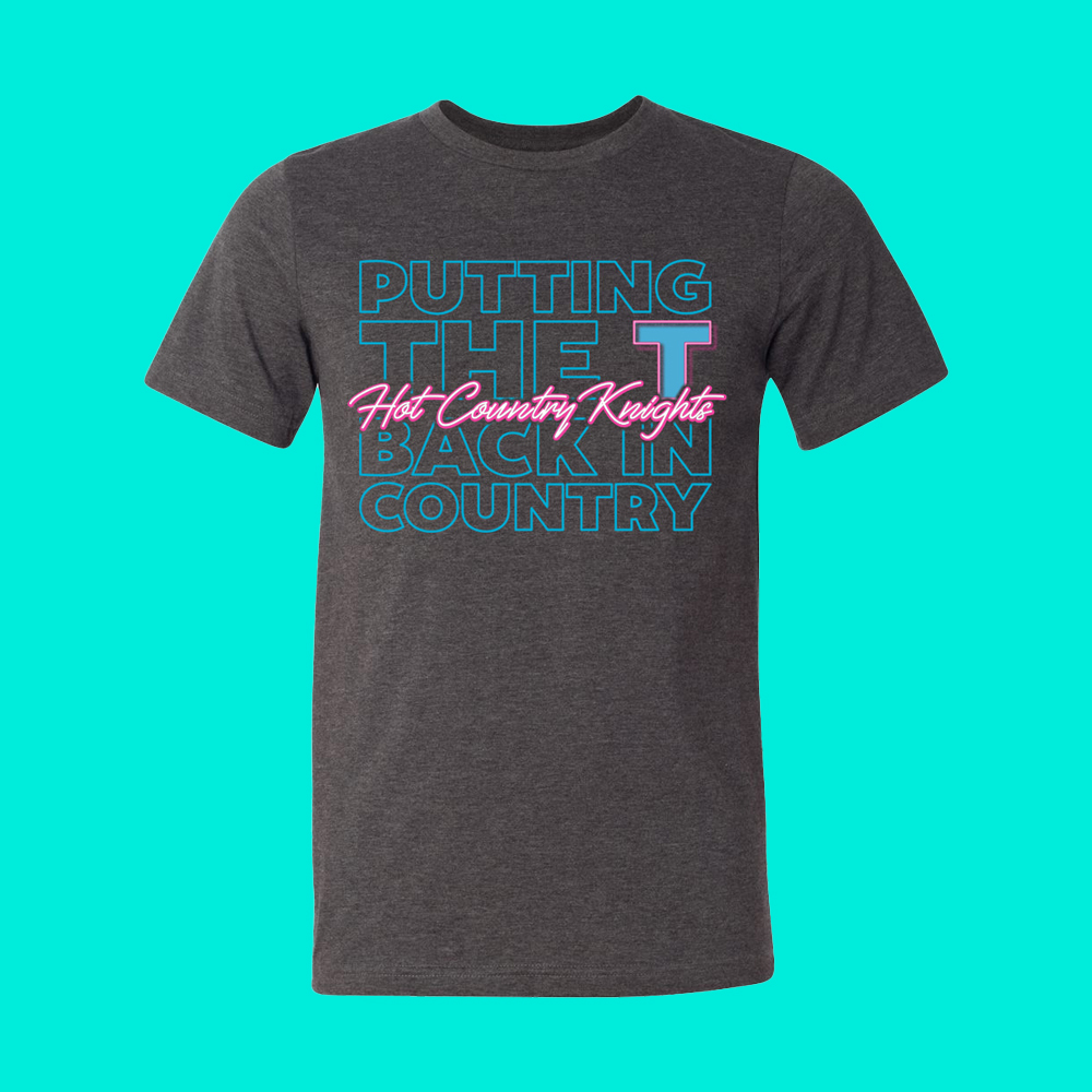 Putting the T Back in Country Tee