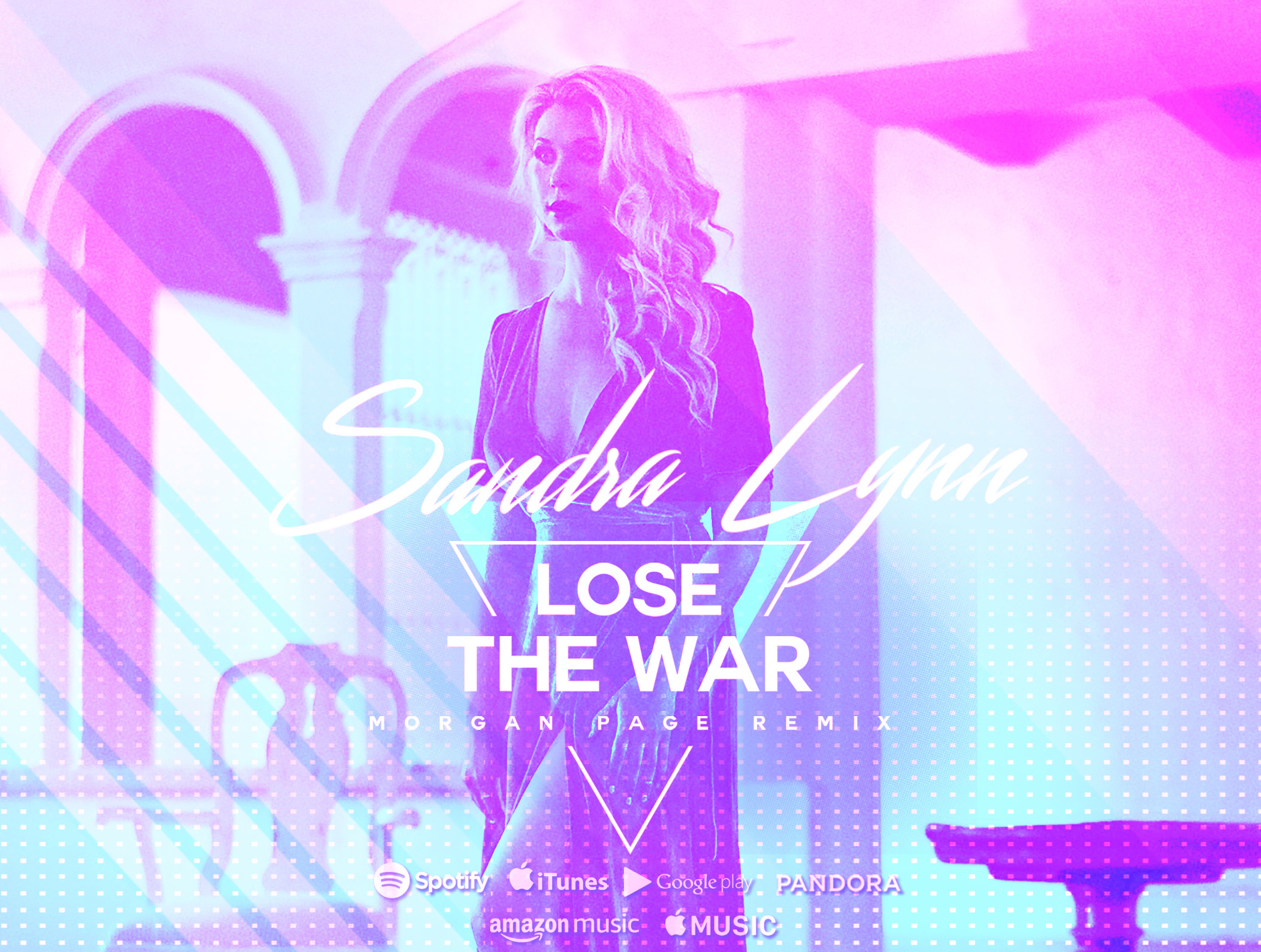 thatDrop.com Exclusively Premieres Sandra Lynns Lose The War (Morgan Page Remix)