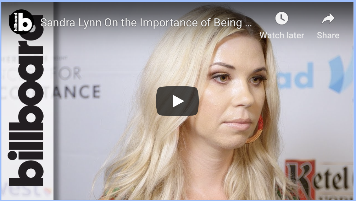 Sandra Lynn On Importance of Being Your Authentic Self at Concert for Love & Acceptance | Billboard