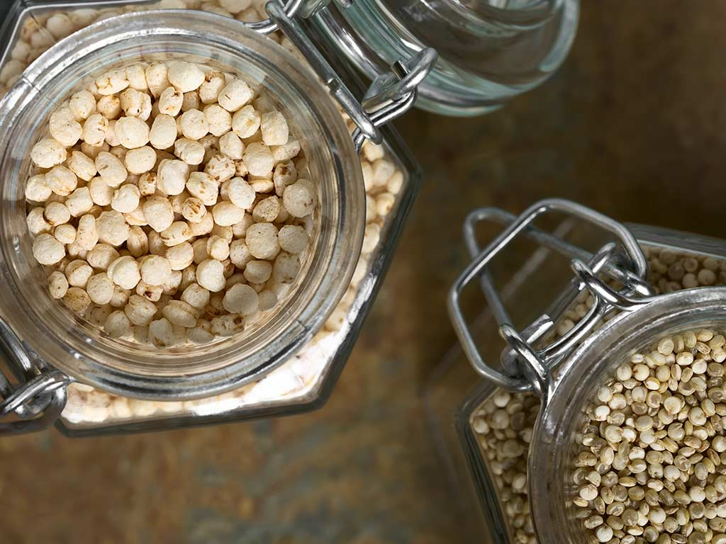 Quinoa is highin antioxidants, protein, fiber, vitamins and minerals