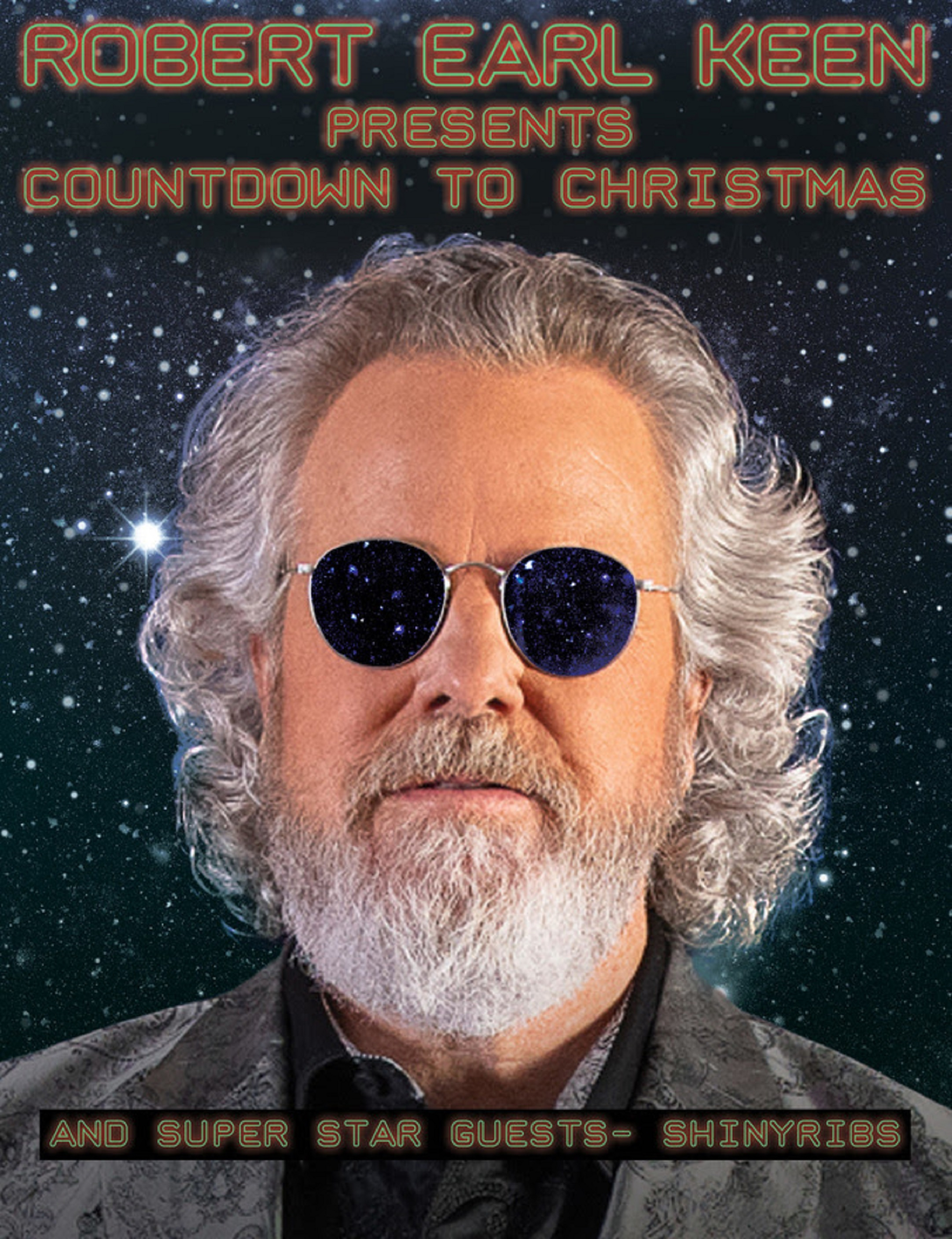 Robert Earl Keen Celebrates Christmas to the Moon and Back