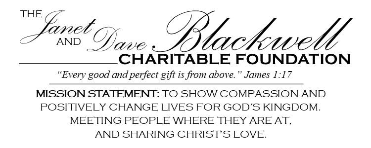 Janet & Dave Blackwell Foundation