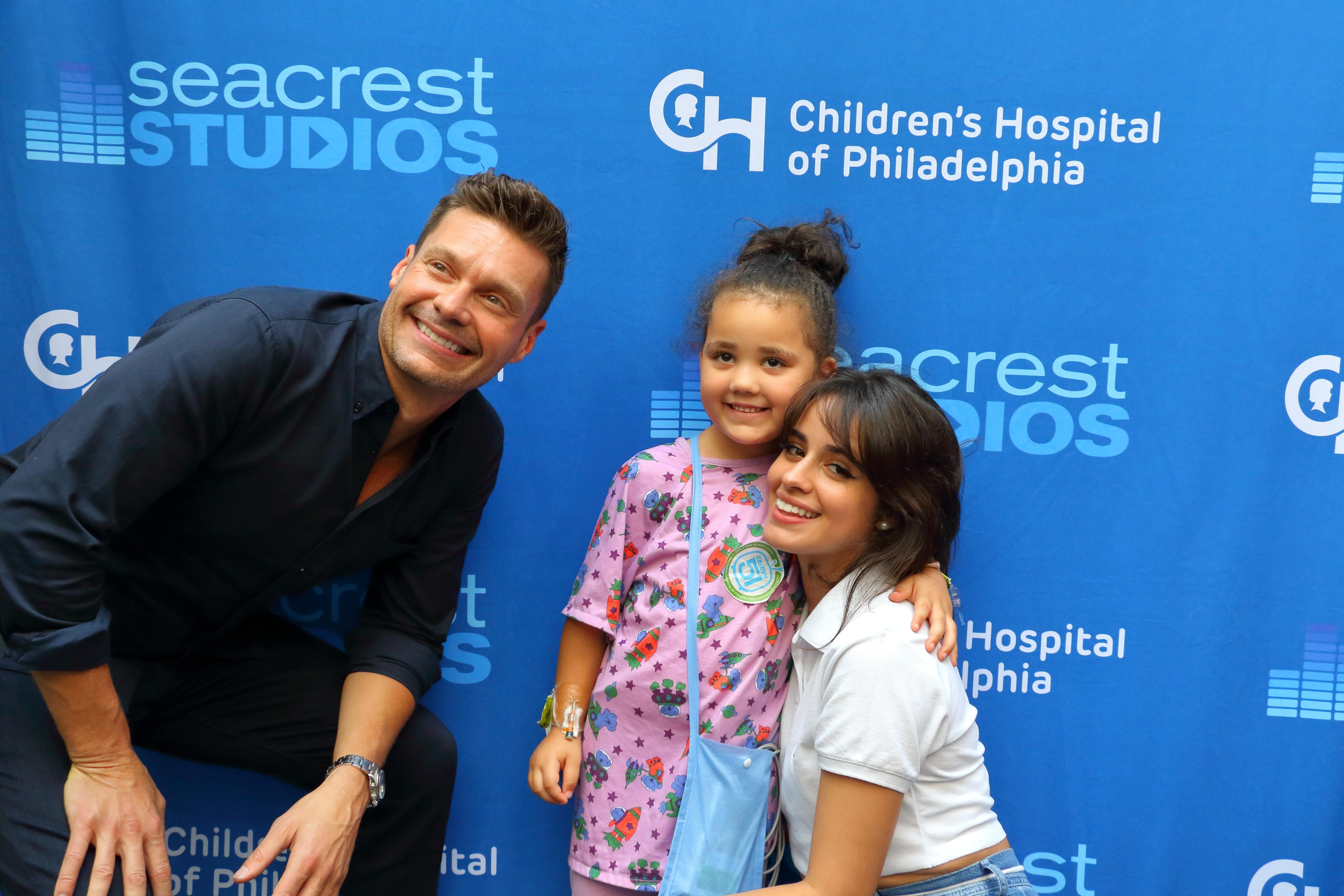 LIVE in Seacrest Studios at Children's Hospital of Philadelphia with Ryan Seacrest and Camila Cabello!