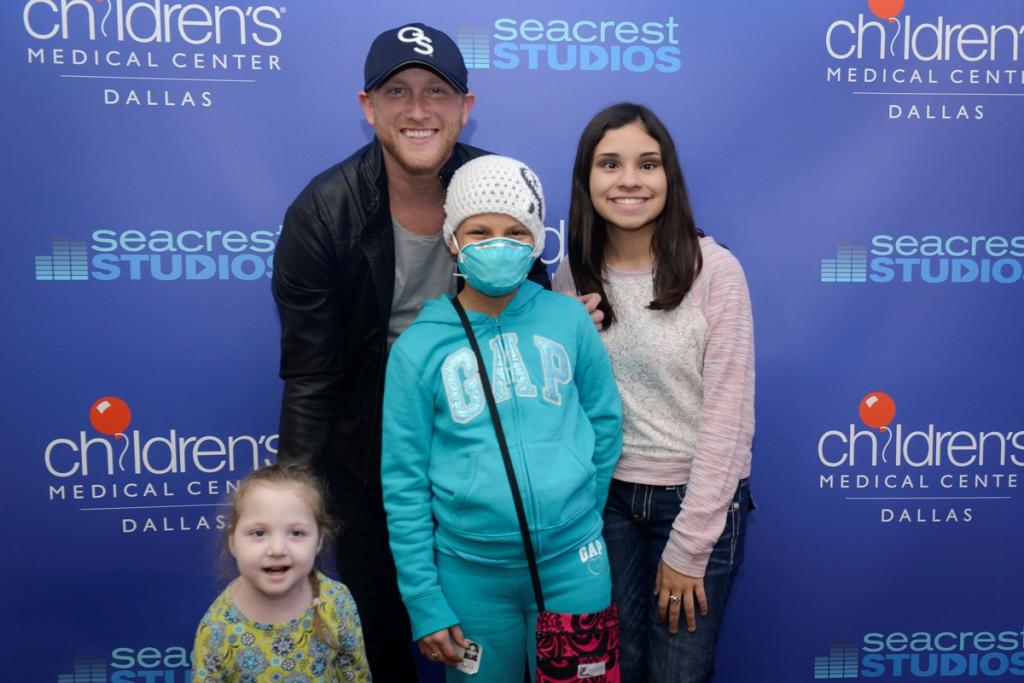 U.S. Women's Soccer Player Whitney Engen Inspires Patients At Seacrest Studios