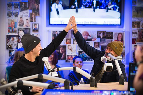 Seacrest Studios At Children's Hospital Colorado Packed For A Visit With Twenty One Pilots!