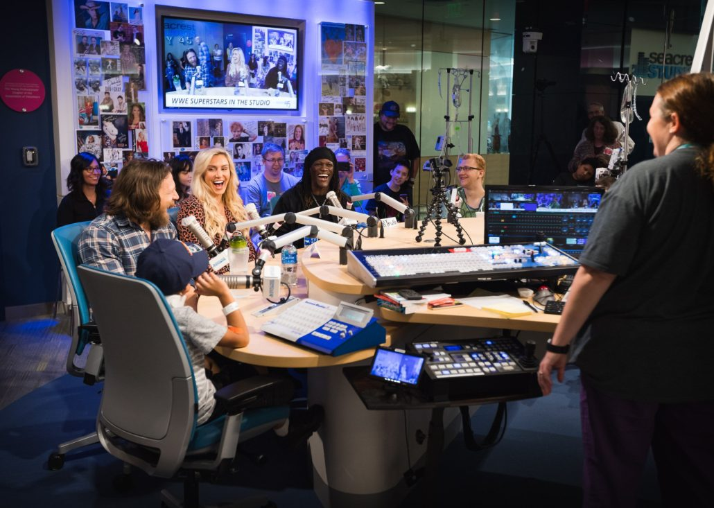 WWE Superstars Are Welcomed to Seacrest Studios with Yes! Yes! Yes! Chant