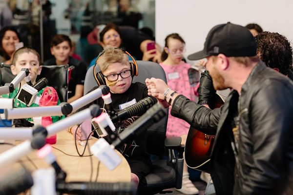 Cole Swindell Welcomed Back to Seacrest Studios, Dallas