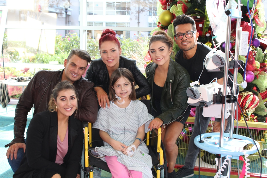 Dancing With The Stars Live! Makes A Memorable Visit To Seacrest Studios