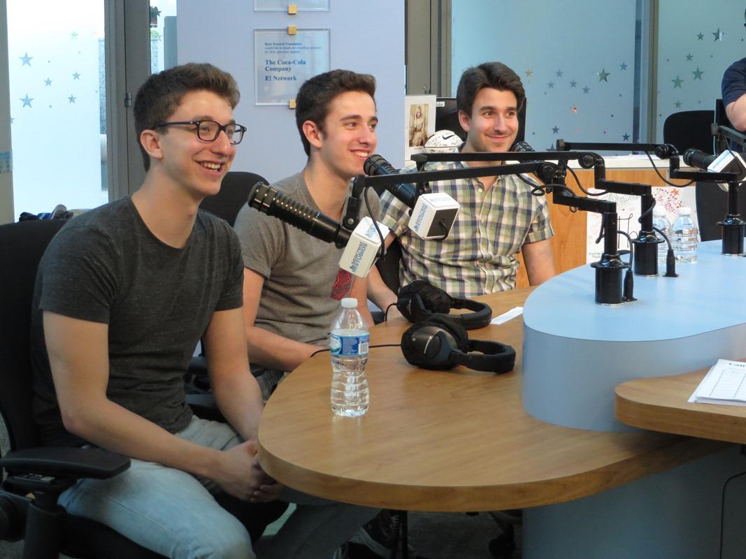 AJR Talks SpongeBob At Seacrest Studios!