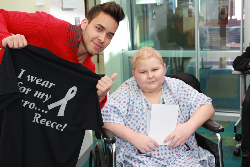 Prince Royce Makes His First Visit To Seacrest Studios Very Special