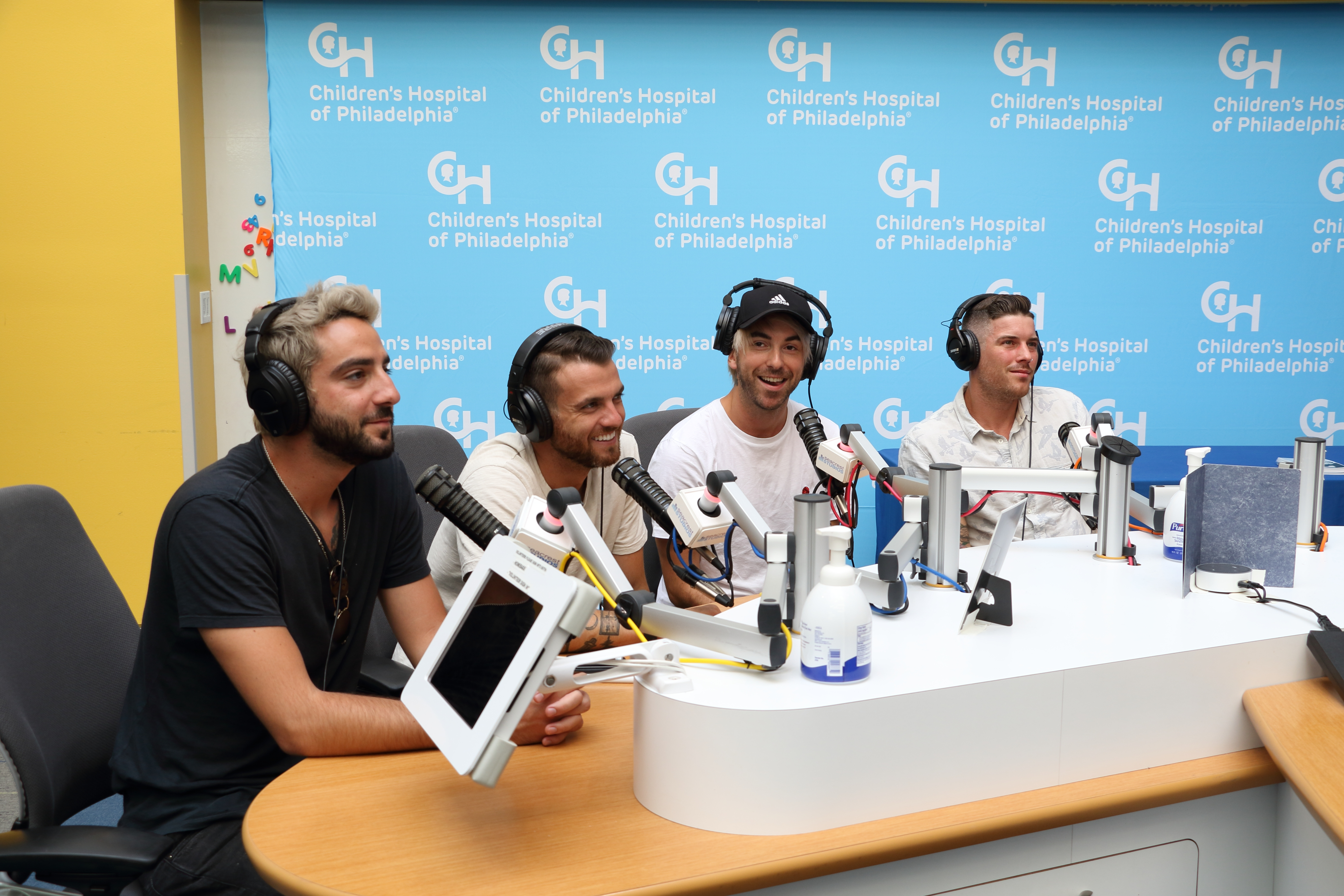 All Time Low Makes Another Visit to Seacrest Studios!