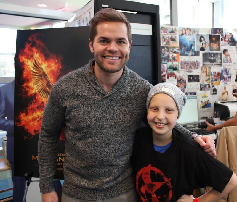 Wes Chatham From 'The Hunger Games' Visits Seacrest Studios