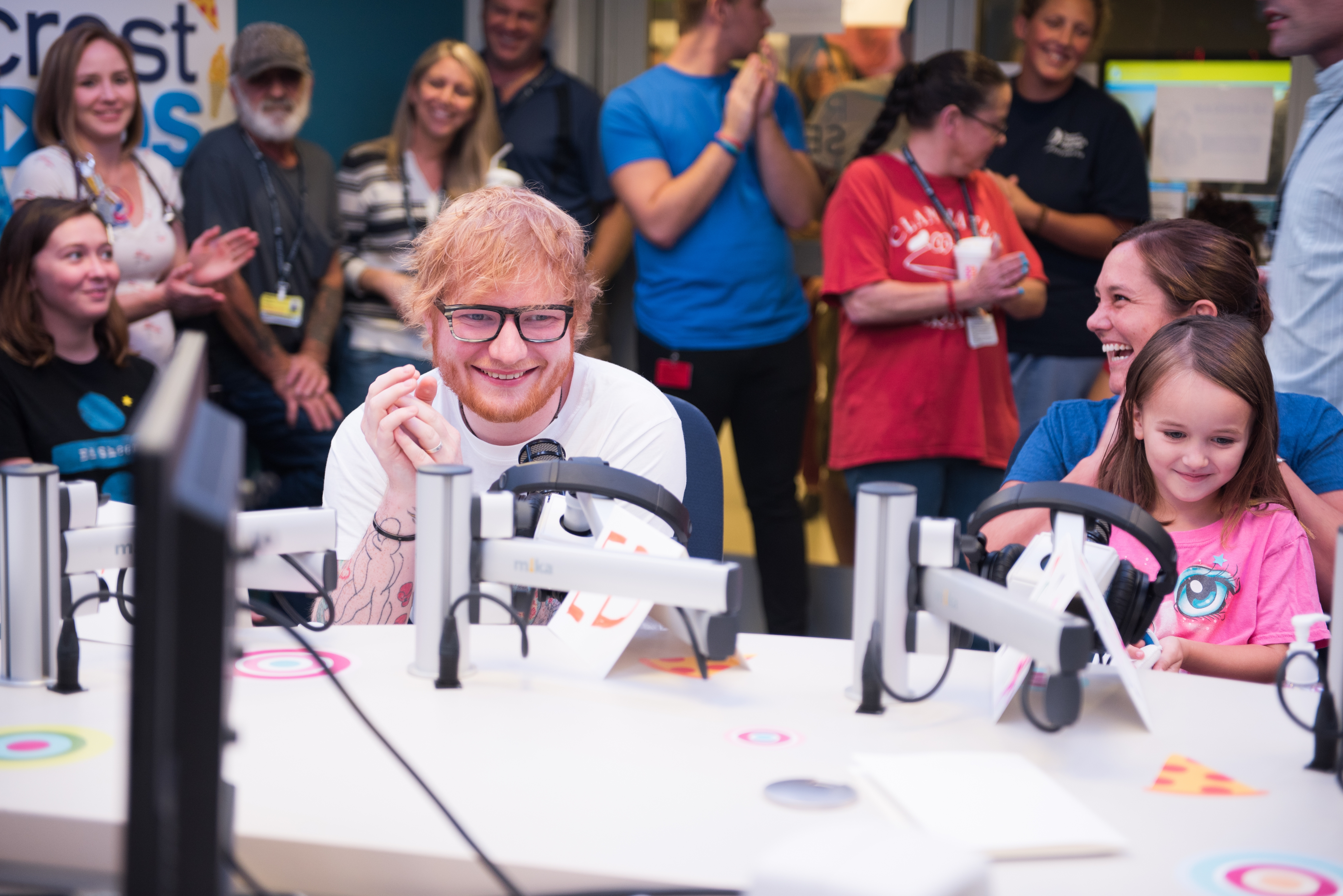 Ed Sheeran Visited Boston Children's Hopsital, and it was Perfect