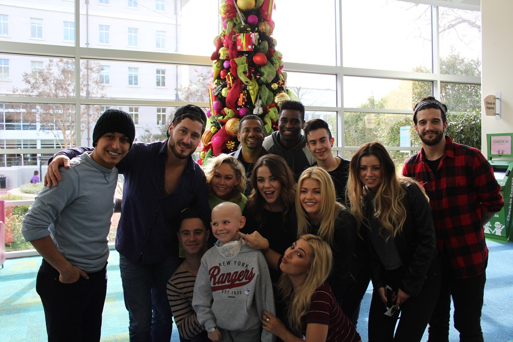 Mark Ballas Performs During 'Dancing With The Stars' Visit At Seacrest Studios