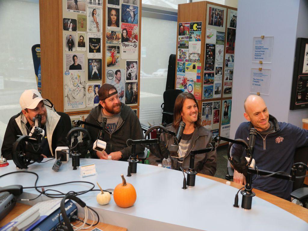 Eli Young Band Visits Seacrest Studios at Levine Children's Hospital