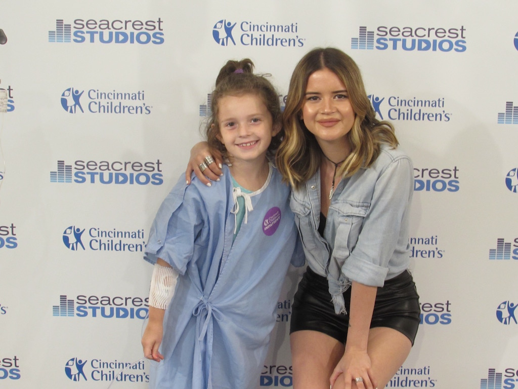 Maren Morris Sings Her Hit 'My Church' At Seacrest Studios Cincinnati