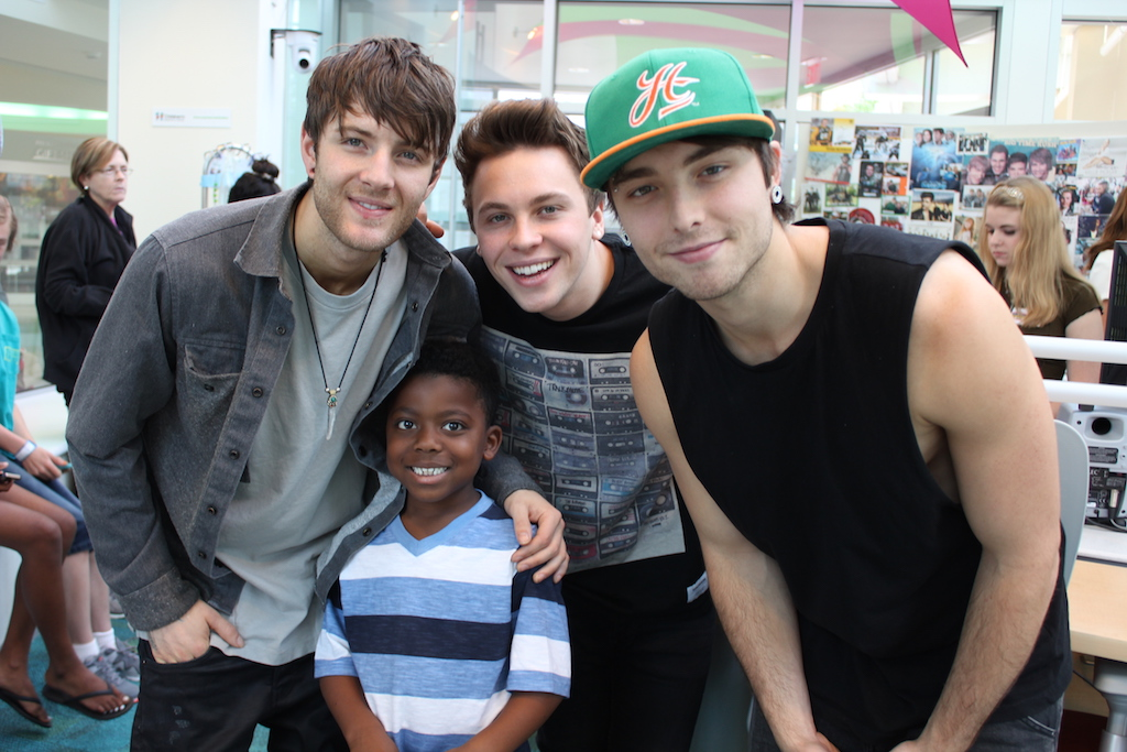 Emblem3 Performs 3 Of Their Hits For Patients In Seacrest Studios Atlanta