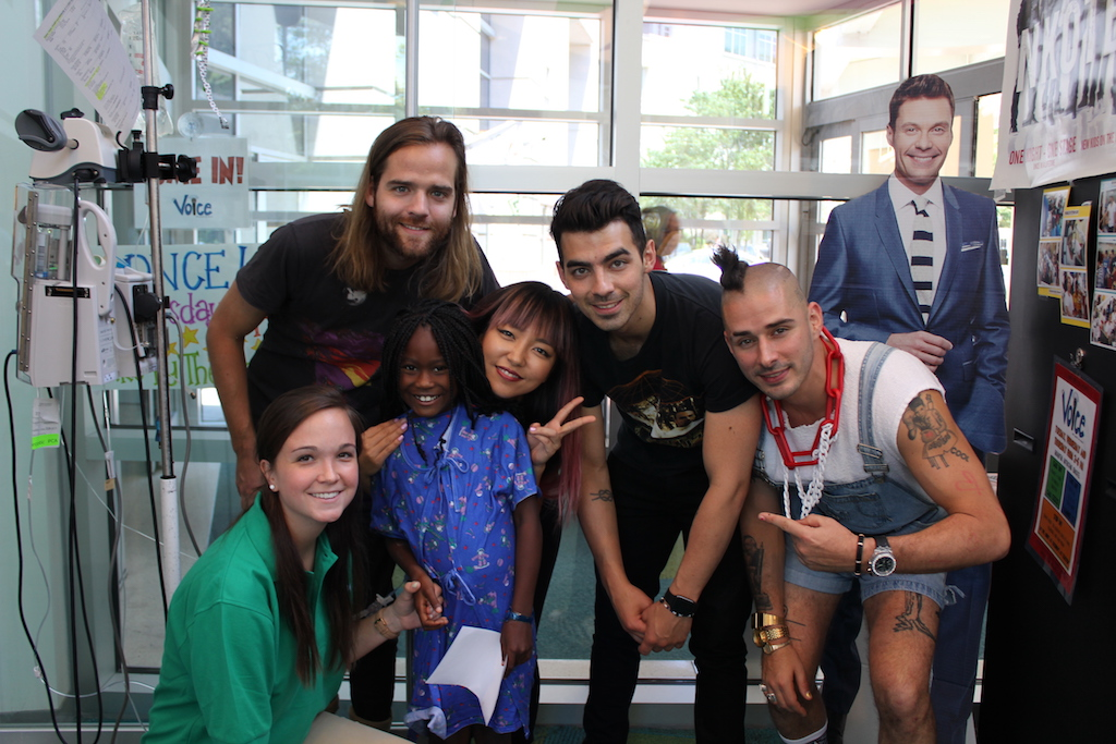 DNCE Returns To Seacrest Studios Atlanta For A Second Visit