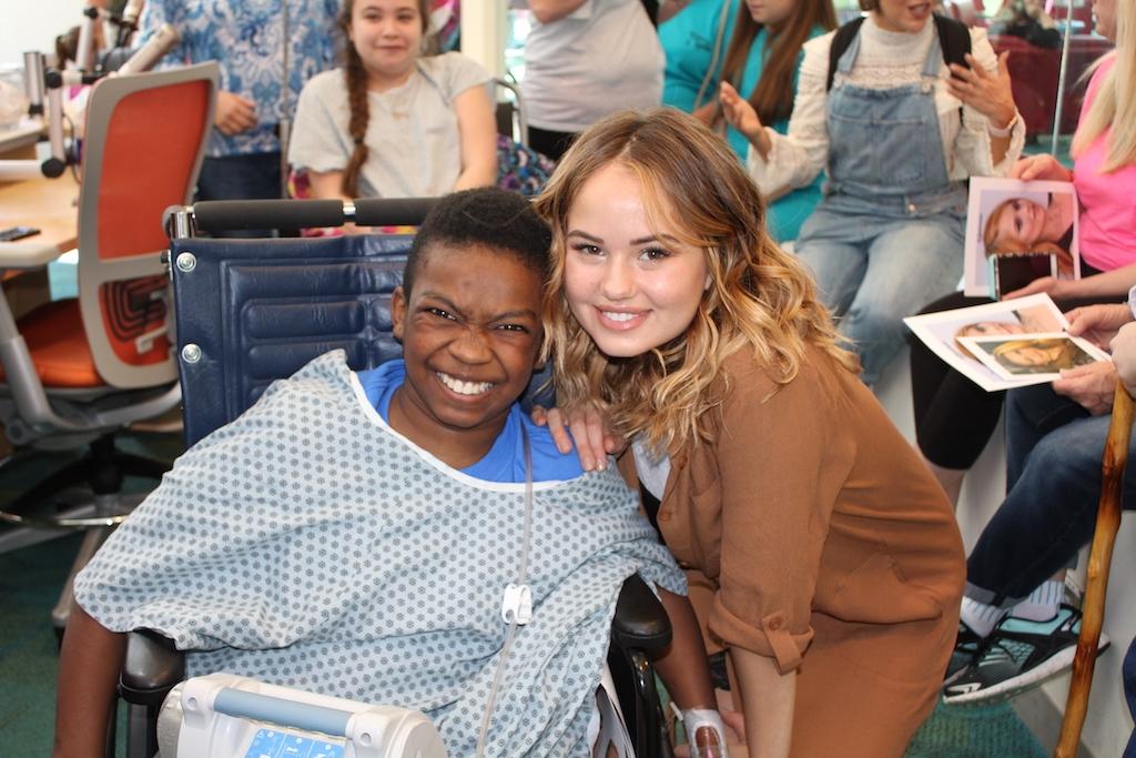 Debby Ryan and the cast of 'Insatiable' Visit Seacrest Studios Atlanta