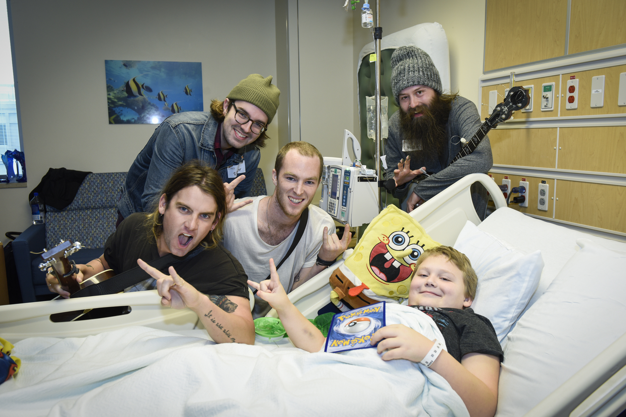 Judah and the Lion Jam For Kids in Seacrest Studios Dallas