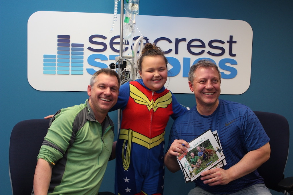 Wild Kratts Visit Patients At Seacrest Studios Boston