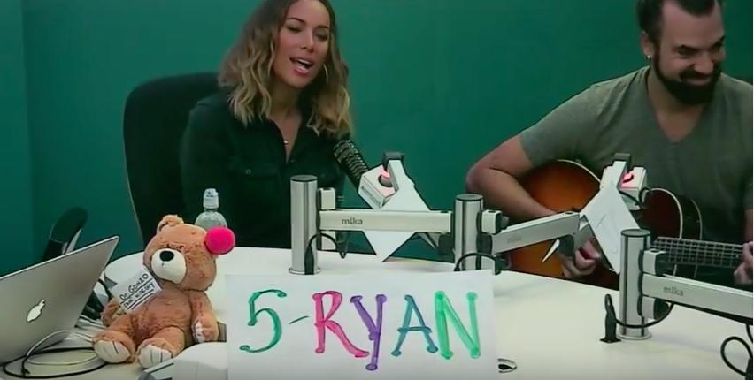 Leona Lewis Performs 'Thunder' at Seacrest Studios