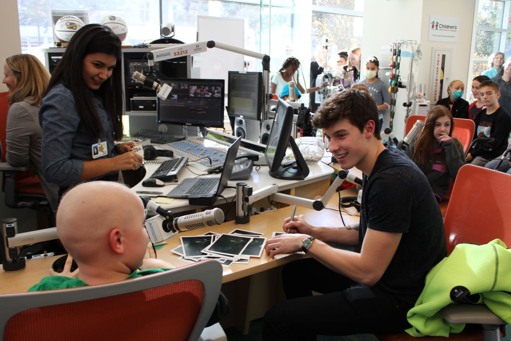 Shawn Mendes Spends The Holidays at Seacrest Studios in Atlanta!