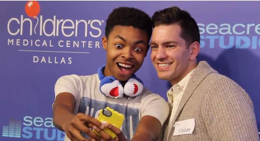 Andy Grammer Meets One Of His Biggest Fans In Seacrest Studios