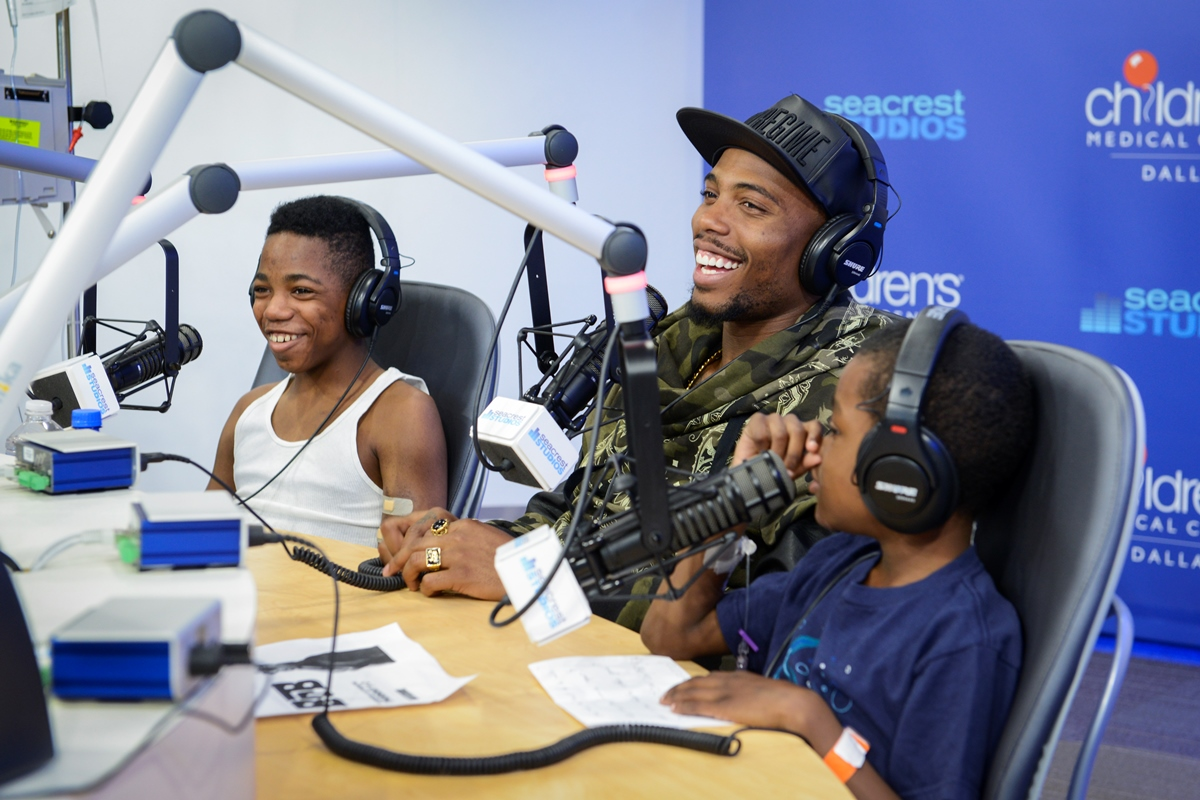 Kellan Lutz Talks About His Clothing Line And Love For Animals At Seacrest Studios