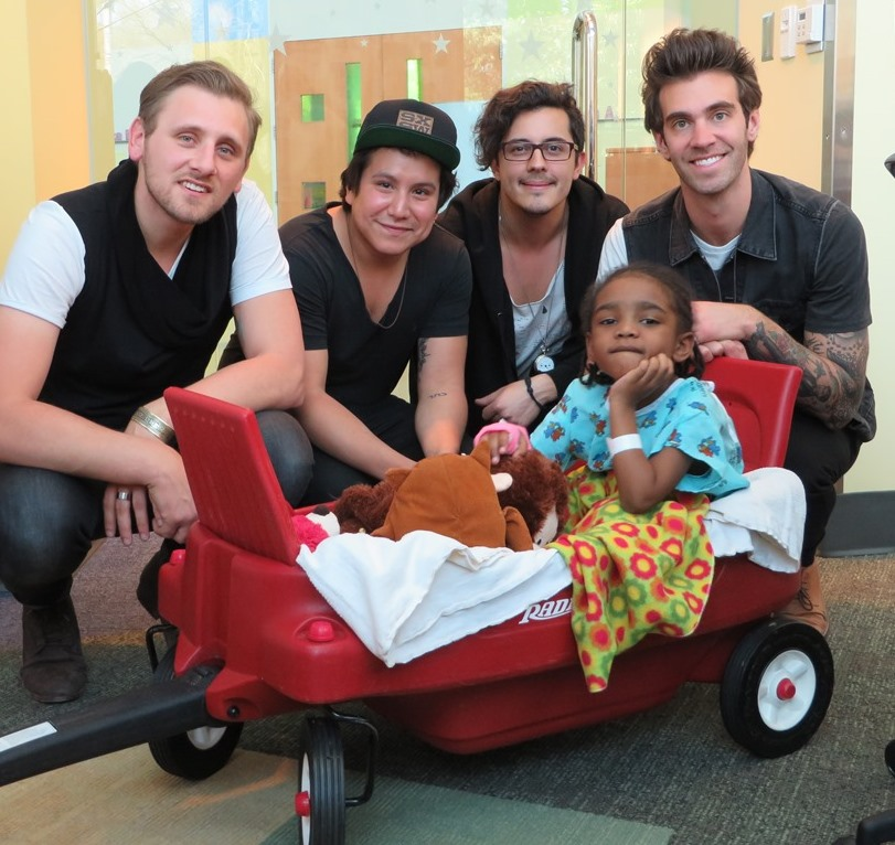 American Authors Make A Special Tour Stop At Seacrest Studios in Charlotte